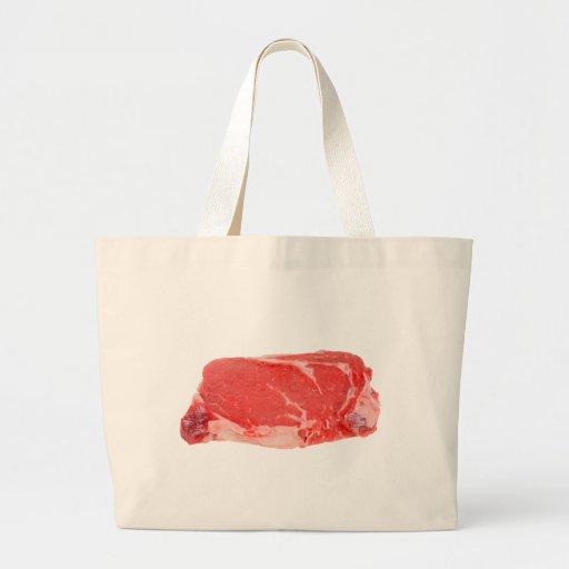 Ribeye Steak uncooked Bags