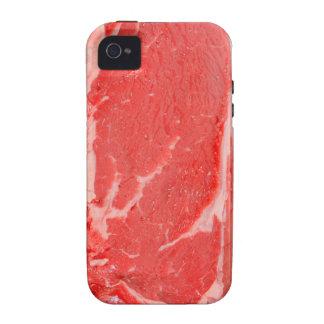 Ribeye Steak uncooked iPhone 4 Covers