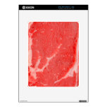 Ribeye Steak uncooked Decals For iPad