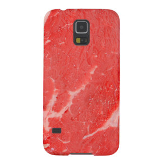 Ribeye Steak uncooked Galaxy S5 Cover