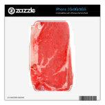 Ribeye Steak uncooked iPhone 3G Decal
