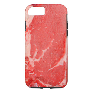 Ribeye Steak uncooked iPhone 7 Case