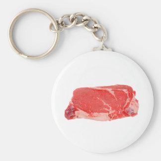 Ribeye Steak uncooked Keychain