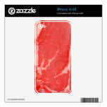 Ribeye Steak uncooked Skins For iPhone 4