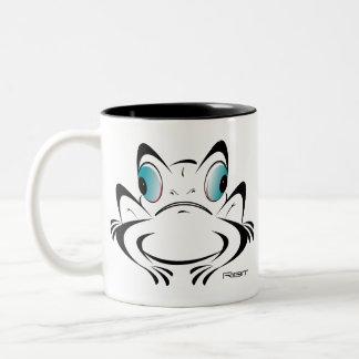 Ribit Two-Tone Coffee Mug
