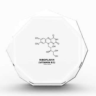 Riboflavin (Vitamin B2) Chemical Molecule Awards