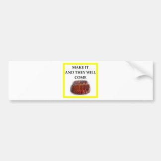 ribs bumper sticker
