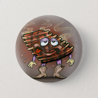 Ribs Pinback Button