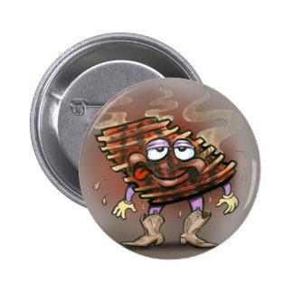 Ribs Pinback Button