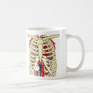 Ribs Veins Enlarged Heart Classic White Coffee Mug