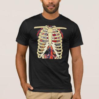 Ribs Veins Enlarged Heart T-Shirt