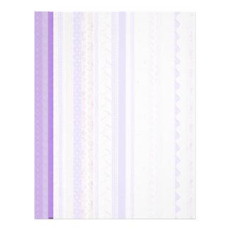 Ric púrpura Rac Plantilla De Membrete