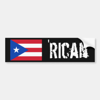 'Rican Bumper Sticker