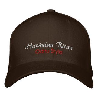 Rican hawaiano gorra del estilo de Oahu Gorro Bordado