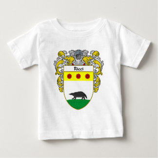 Ricci Coat of Arms (Mantled) Baby T-Shirt