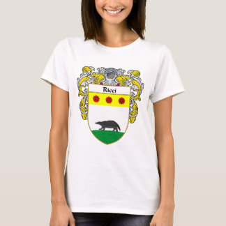 Ricci Coat of Arms (Mantled) T-Shirt