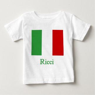 Ricci Italian Flag Baby T-Shirt