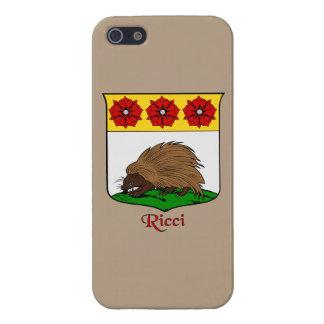 Ricci Italian Surname Historical Shield Case For iPhone SE/5/5s