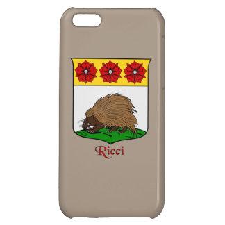 Ricci Italian Surname Historical Shield iPhone 5C Cases
