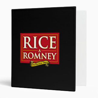 RICE-A-ROMNEY LABEL png 3 Ring Binders