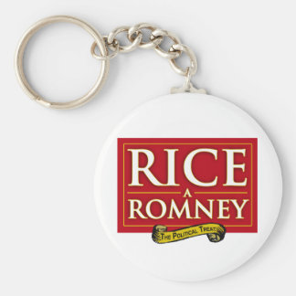 RICE-A-ROMNEY LABEL png Keychains