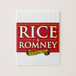 RICE-A-ROMNEY LABEL JIGSAW PUZZLE