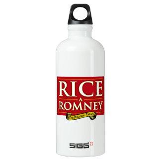 RICE-A-ROMNEY LABEL SIGG TRAVELER 0.6L WATER BOTTLE