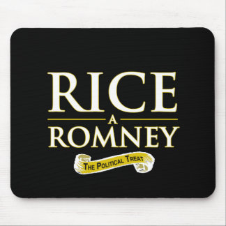 RICE-A-ROMNEY MOUSE PAD