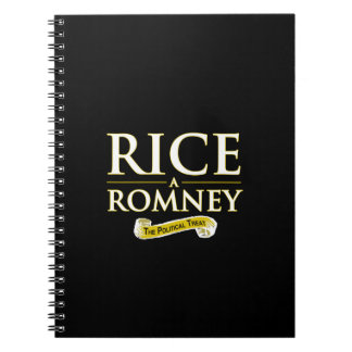 RICE-A-ROMNEY NOTE BOOK