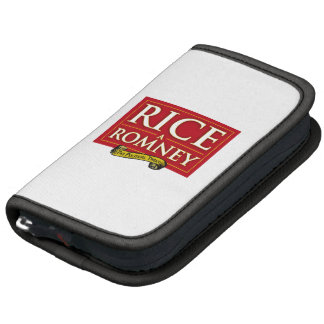 RICE-A-ROMNEY FOLIO PLANNERS