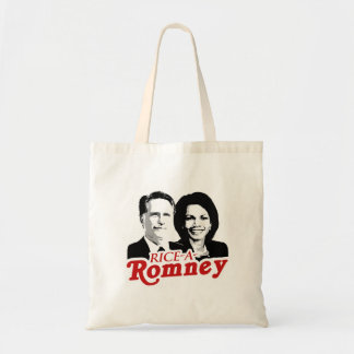 RICE-A-ROMNEY.png Budget Tote Bag