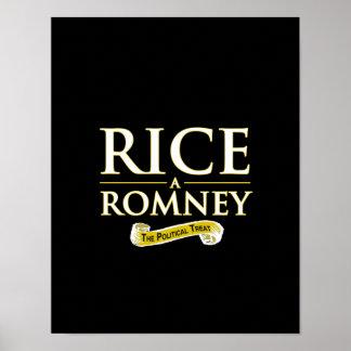 RICE-A-ROMNEY PRINT