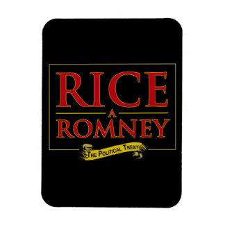 RICE-A-ROMNEY RECTANGULAR PHOTO MAGNET