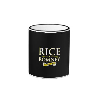 RICE-A-ROMNEY RINGER COFFEE MUG