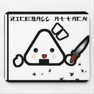 rice attack mouse pad