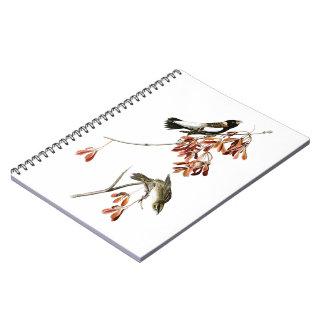 Rice Bird John James Audubon Birds of America Spiral Notebook