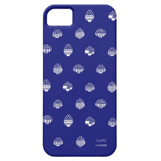 Rice bowls and Chopsticks Navy Blue and White iPhone SE/5/5s Case