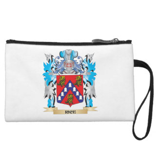 Rice Coat of Arms - Family Crest Wristlet Purses