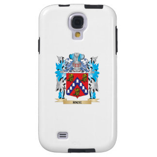 Rice Coat of Arms - Family Crest Galaxy S4 Case