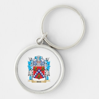 Rice Coat of Arms - Family Crest Keychain