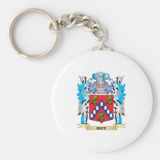 Rice Coat of Arms - Family Crest Key Chain