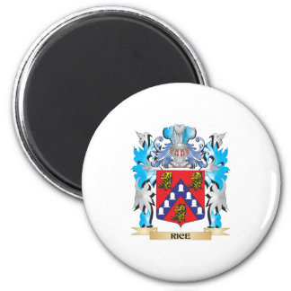 Rice Coat of Arms - Family Crest Magnets