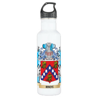 Rice Coat of Arms - Family Crest 24oz Water Bottle