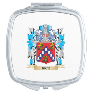 Rice Coat of Arms - Family Crest Compact Mirror