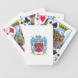 Rice Coat of Arms - Family Crest Bicycle Playing Cards