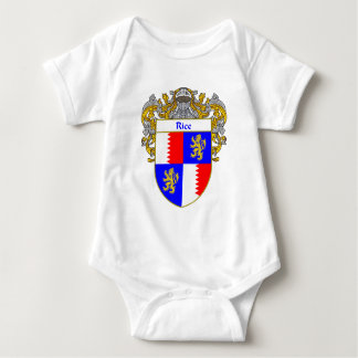 Rice Coat of Arms (Mantled) Baby Bodysuit