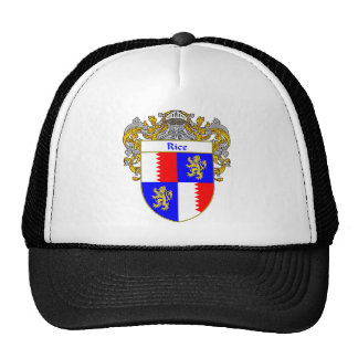 Rice Coat of Arms (Mantled) Trucker Hat