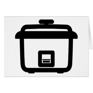 Rice Cooker ~ Japan Style Kitchen Appliance Card