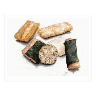 Rice Crackers Postcard