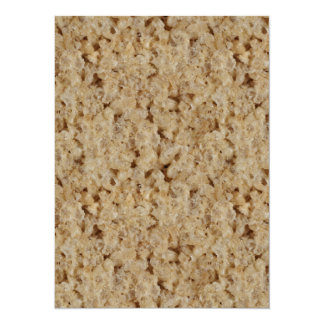 Rice Crispy Treat Card